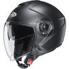 HJC I40 Plain Open Face Motorcycle Helmet & Visor