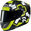 HJC RPHA 11 Iannone Replica Motorcycle Helmet Thumbnail 3