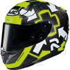 HJC RPHA 11 Iannone Replica Motorcycle Helmet & Visor Thumbnail 4