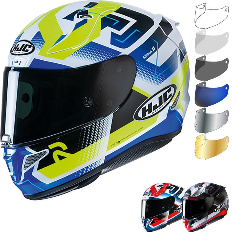 HJC RPHA 11 Nectus Motorcycle Helmet & Visor