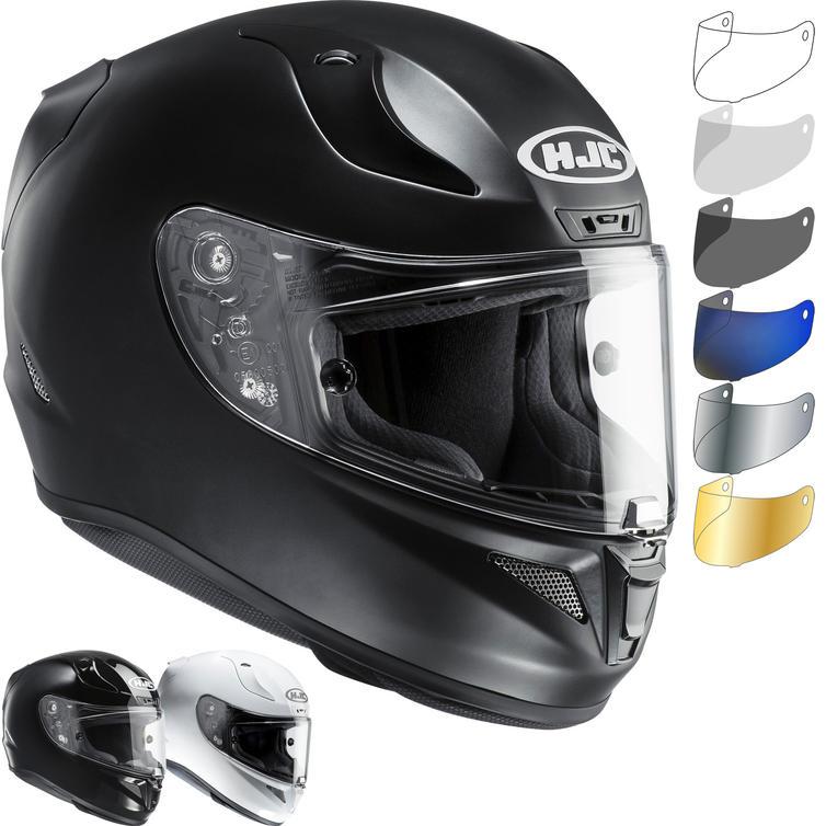 HJC RPHA 11 Plain Motorcycle Helmet & Visor