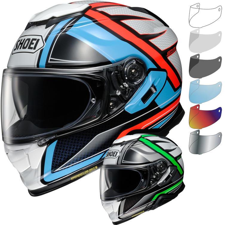 Shoei GT-Air 2 Haste Motorcycle Helmet & Visor