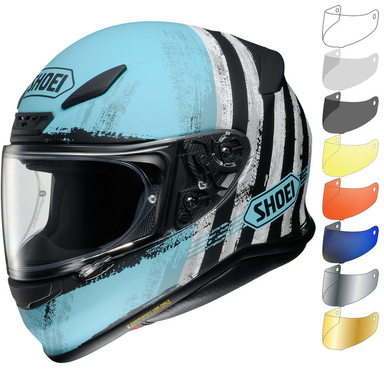 Shoei NXR Shorebreak Motorcycle Helmet & Visor