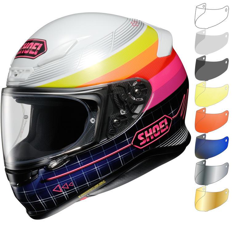 Shoei NXR Zork Motorcycle Helmet & Visor