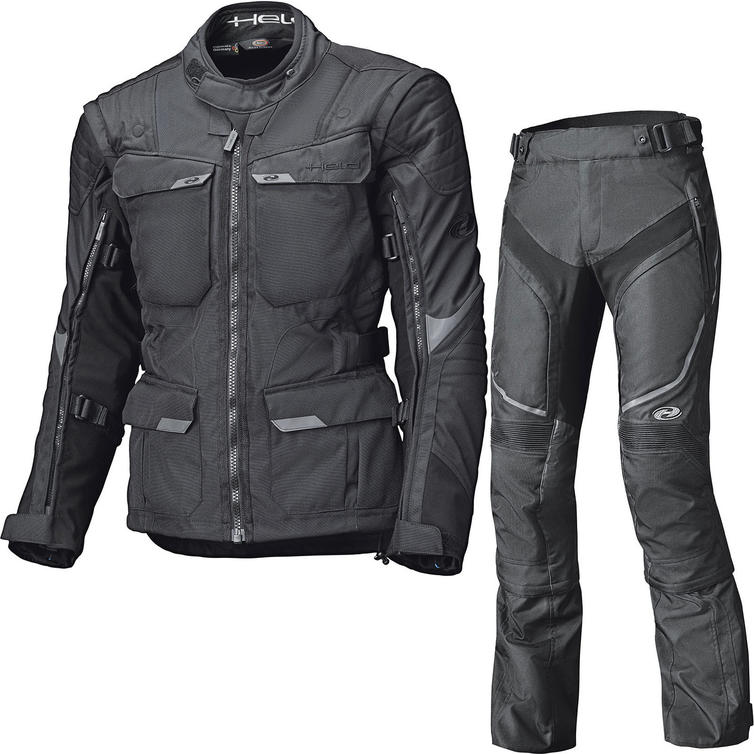 Held Mojave Motorcycle Jacket & Trousers Black Kit
