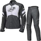 Held Baxley Motorcycle Jacket & Trousers Black White Kit