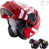 Caberg Duke II Superlegend Flip Front Motorcycle Helmet & Visor