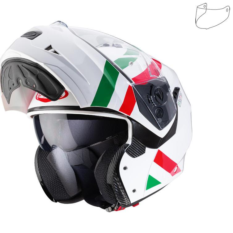 Caberg Duke II Superlegend Italia Flip Front Motorcycle Helmet & Visor
