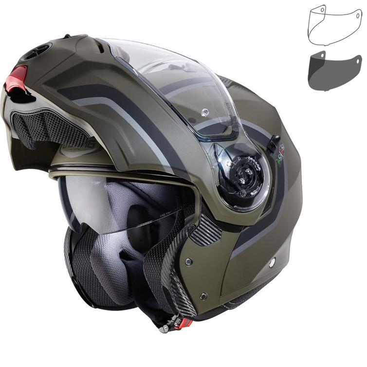 Caberg Droid Pure Flip Front Motorcycle Helmet & Visor