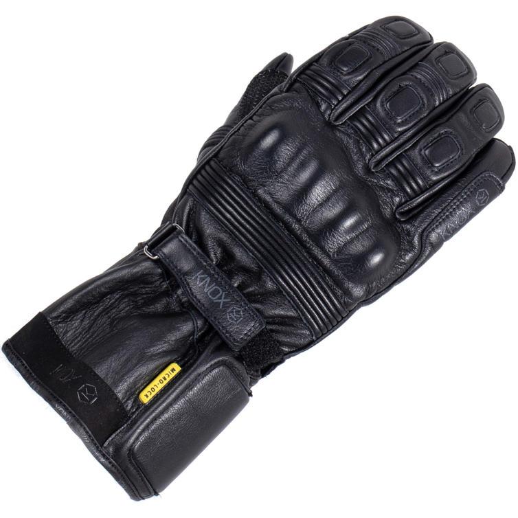 Knox Covert MKIII Leather Waterproof Motorcycle Gloves