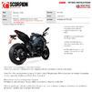 Scorpion RP1-GP Titanium Slip-On Exhaust (Pair) - Kawasaki Z1000 2017 - 2019 Thumbnail 10