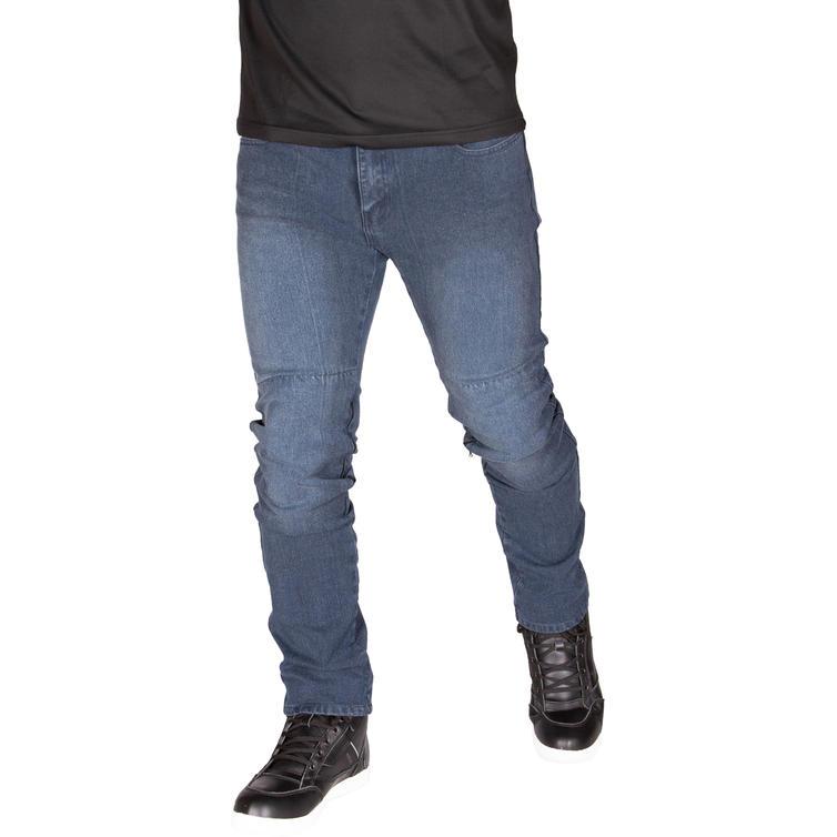 Merlin Stretford Single Layer D3O Blue Grey Motorcycle Jeans
