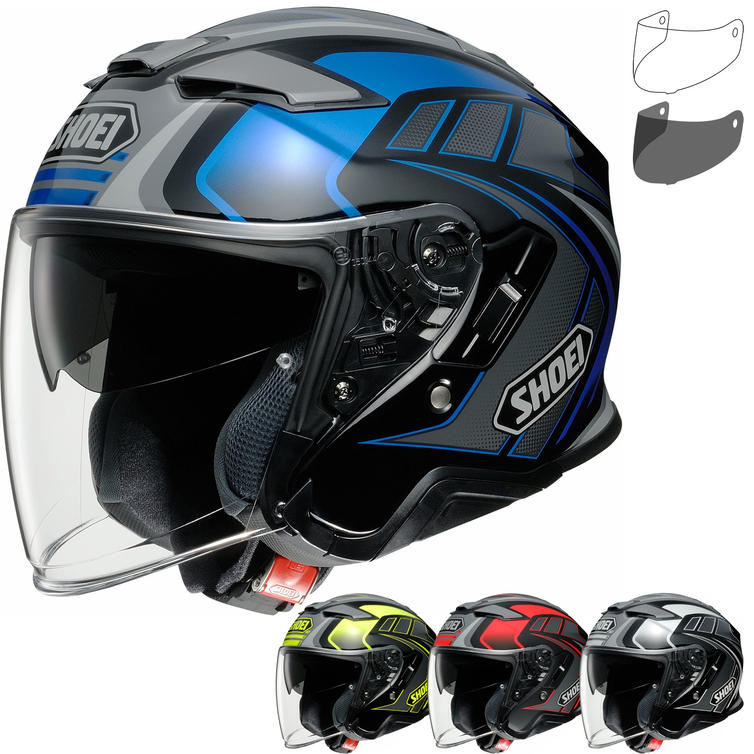 Shoei J-Cruise 2 Aglero Open Face Motorcycle Helmet & Visor