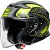 Shoei J-Cruise 2 Aglero Open Face Motorcycle Helmet & Visor Thumbnail 7
