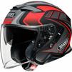Shoei J-Cruise 2 Aglero Open Face Motorcycle Helmet & Visor Thumbnail 6