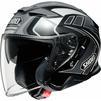Shoei J-Cruise 2 Aglero Open Face Motorcycle Helmet & Visor Thumbnail 5