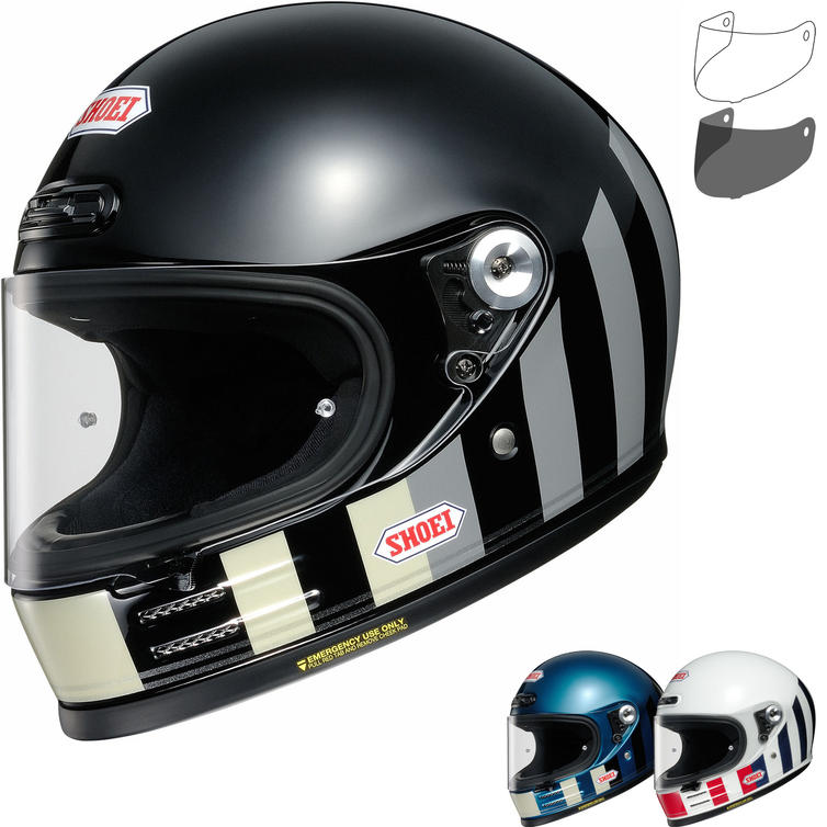 Shoei Glamster Resurrection Motorcycle Helmet & Visor