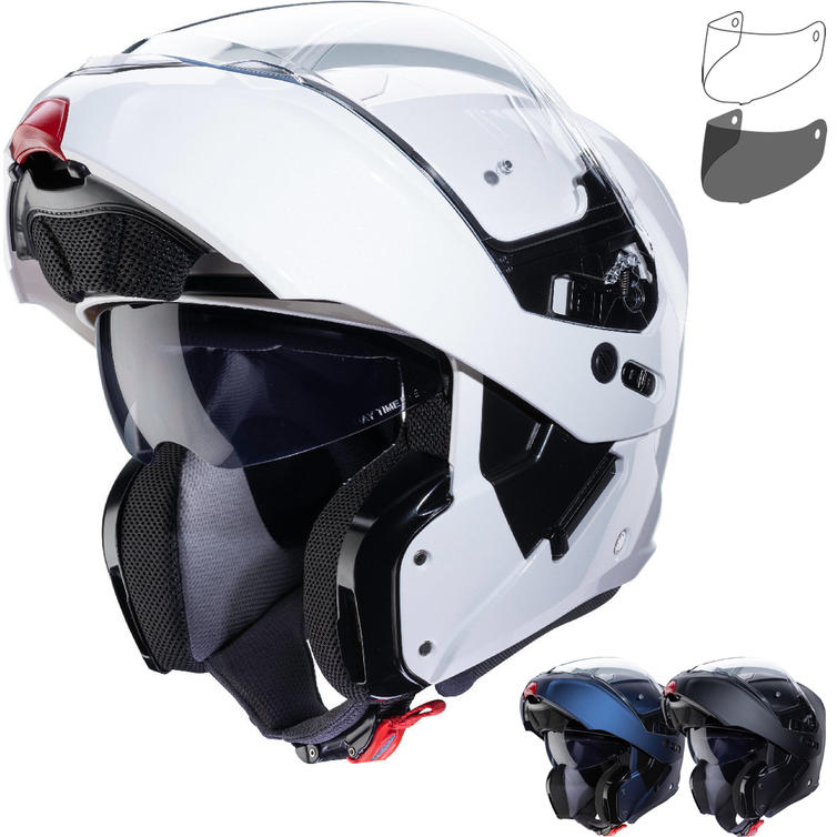 Caberg Horus Flip Front Motorcycle Helmet & Visor
