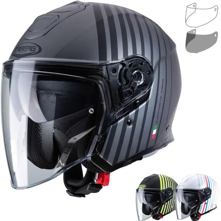 Caberg Flyon Bakari Open Face Motorcycle Helmet & Visor
