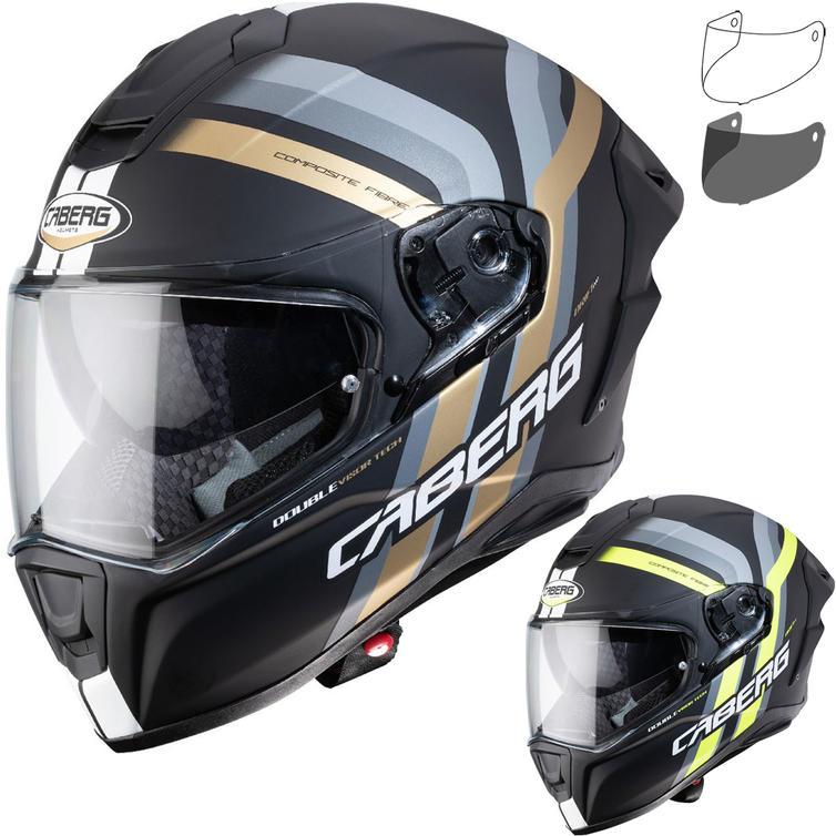 Caberg Drift Evo Vertical Motorcycle Helmet & Visor