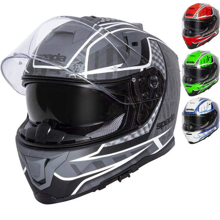 Spada SP1 Raptor Motorcycle Helmet