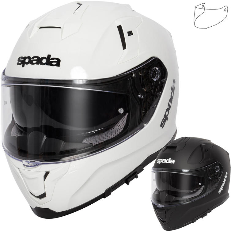 Spada SP1 Motorcycle Helmet & Visor