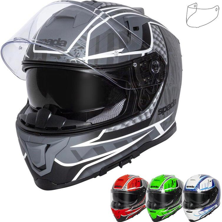 Spada SP1 Raptor Motorcycle Helmet & Visor