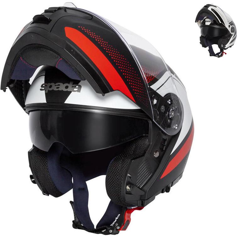 Spada Orion Pixel Flip Front Motorcycle Helmet
