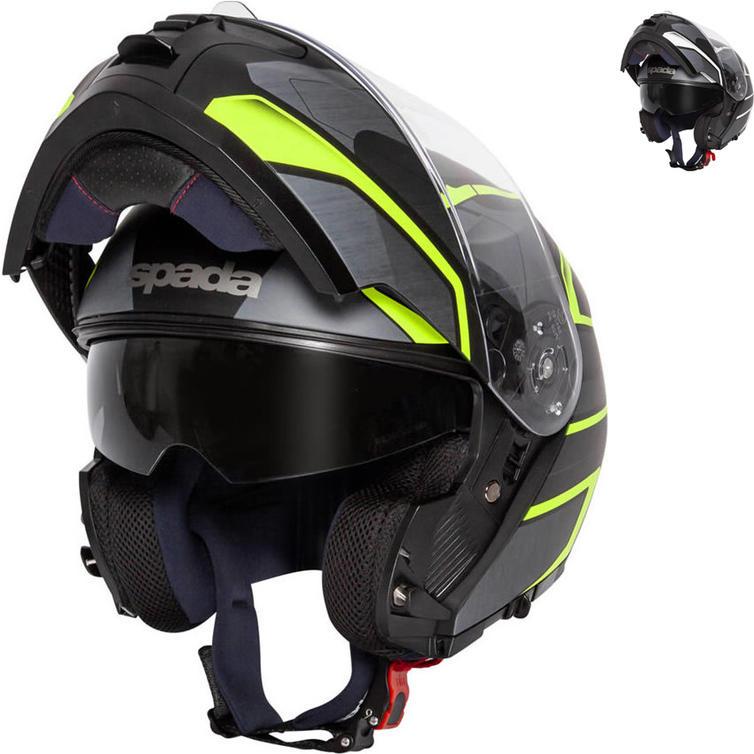 Spada Orion Slate Flip Front Motorcycle Helmet