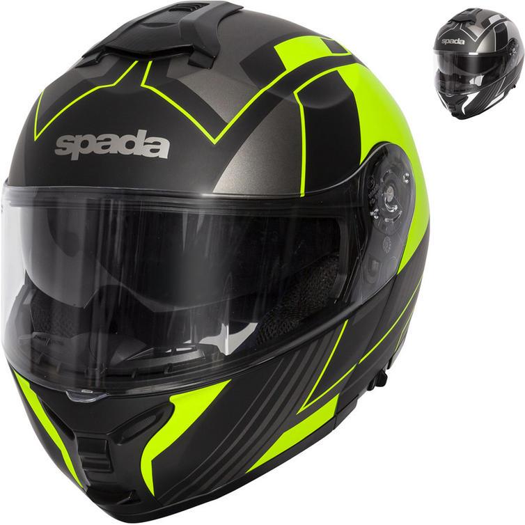 Spada Orion Whip Flip Front Motorcycle Helmet