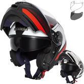 Spada Orion Pixel Flip Front Motorcycle Helmet & Visor