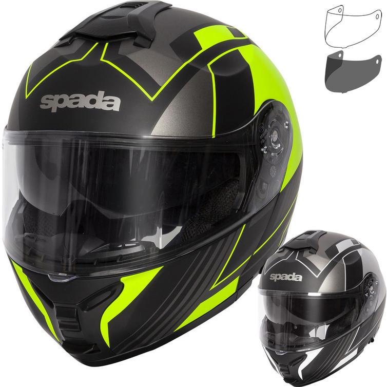 Spada Orion Whip Flip Front Motorcycle Helmet & Visor