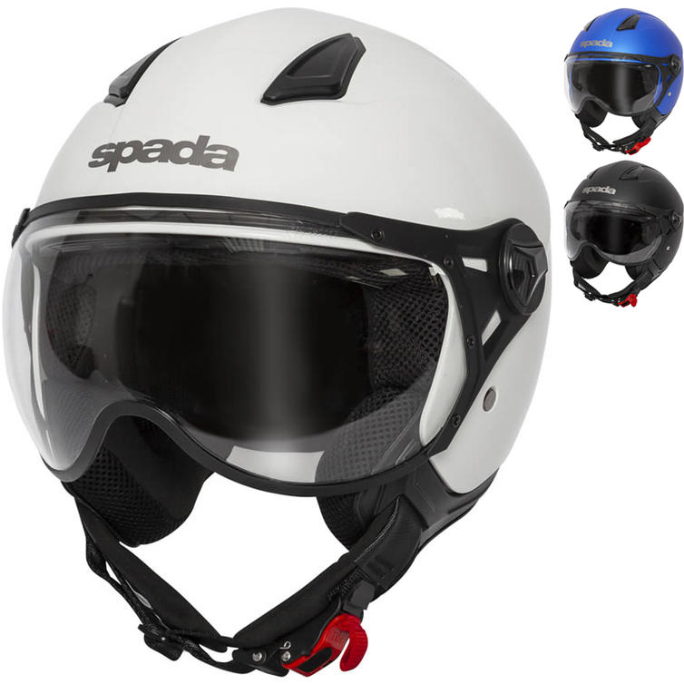 Spada Hellion Open Face Motorcycle Helmet