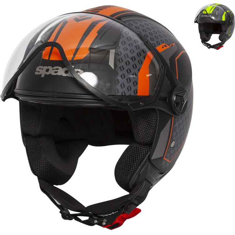Spada Hellion Arrow Open Face Motorcycle Helmet