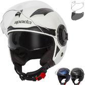 Spada Lycan Open Face Motorcycle Helmet & Visor
