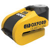 Oxford Quartz XA6 Alarm Disc Lock (6mm pin) Thumbnail 2