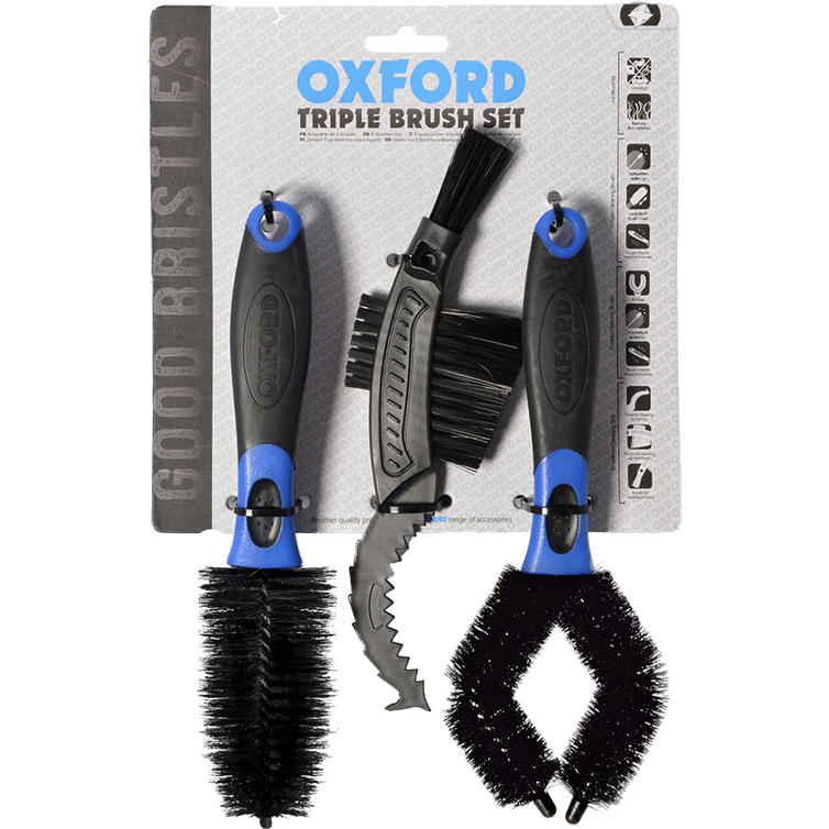 Oxford Triple Brush Set (OX738)