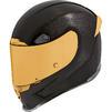 Icon Airframe Pro Carbon Motorcycle Helmet Thumbnail 2