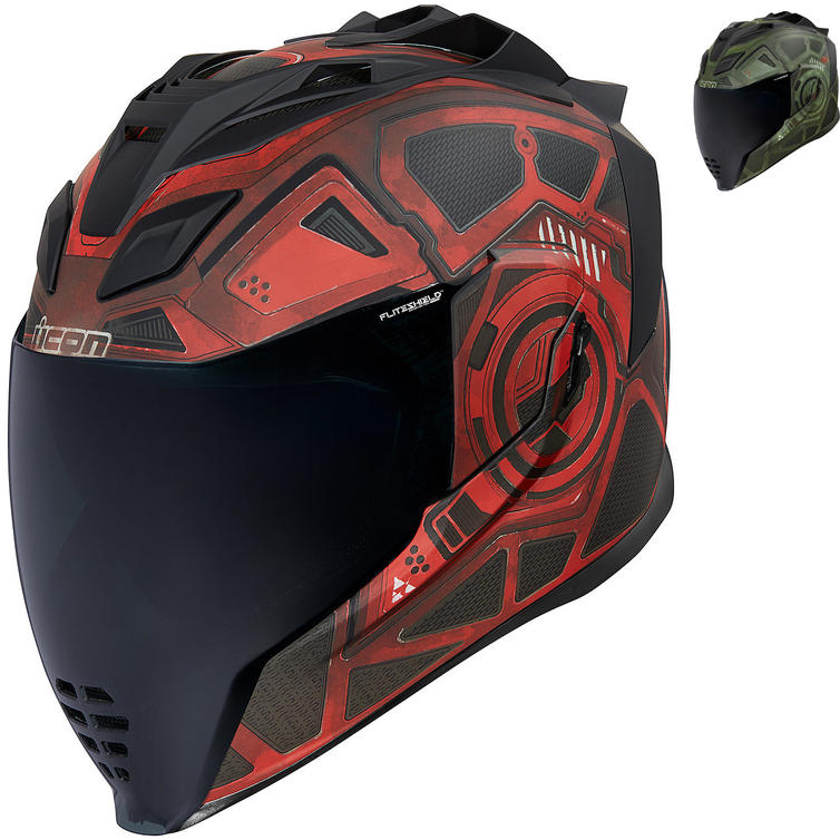 Icon Airflite Blockchain Motorcycle Helmet