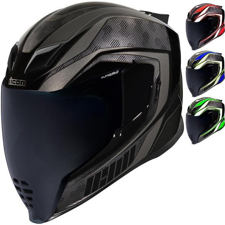 Icon Airflite Raceflite Motorcycle Helmet