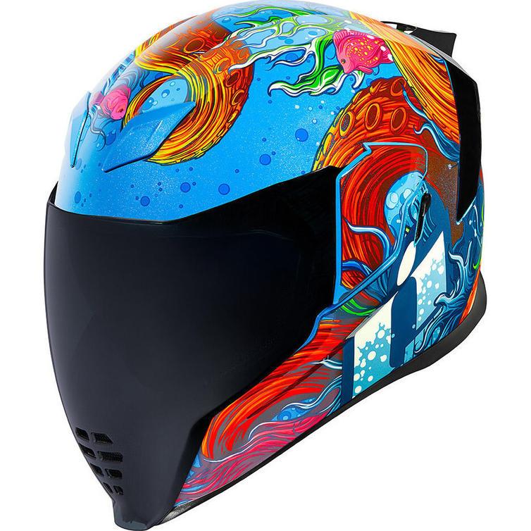 Icon Airflite Inky Motorcycle Helmet