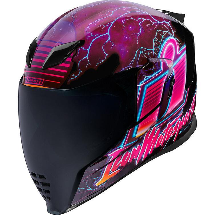 Icon Airflite Synthwave Motorcycle Helmet