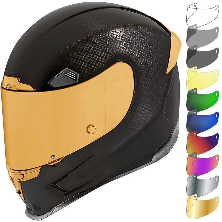 Icon Airframe Pro Carbon Motorcycle Helmet & Visor