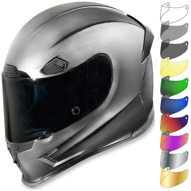 Icon Airframe Pro Quicksilver Motorcycle Helmet & Visor