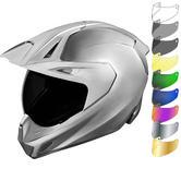 Icon Variant Pro Quicksilver Dual Sport Helmet & Visor