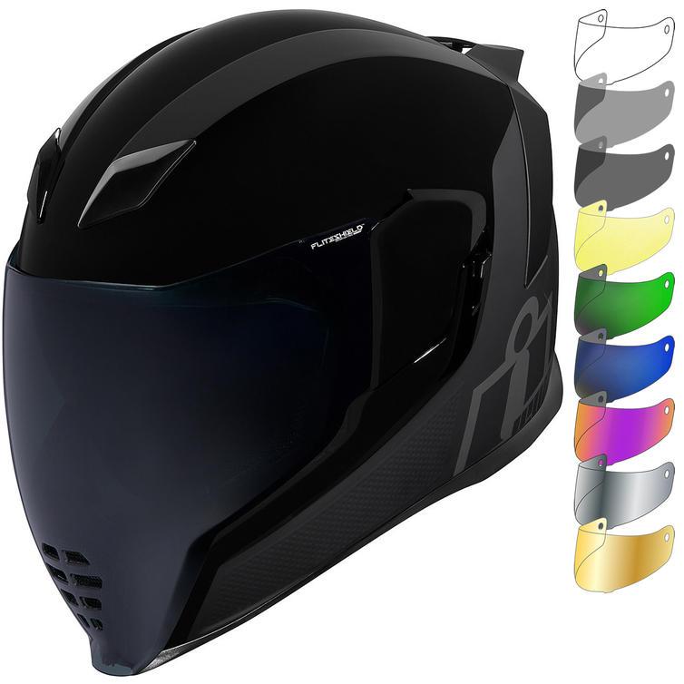 Icon Airflite MIPS Stealth Motorcycle Helmet & Visor