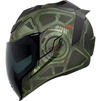 Icon Airflite Blockchain Motorcycle Helmet & Visor Thumbnail 6