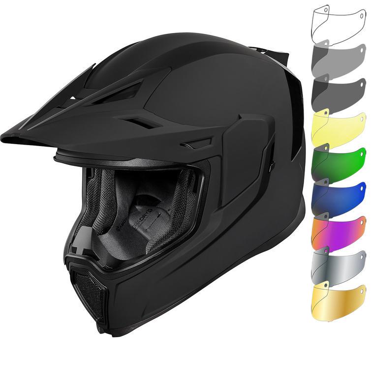 Icon Airflite Moto Motorcycle Helmet & Visor