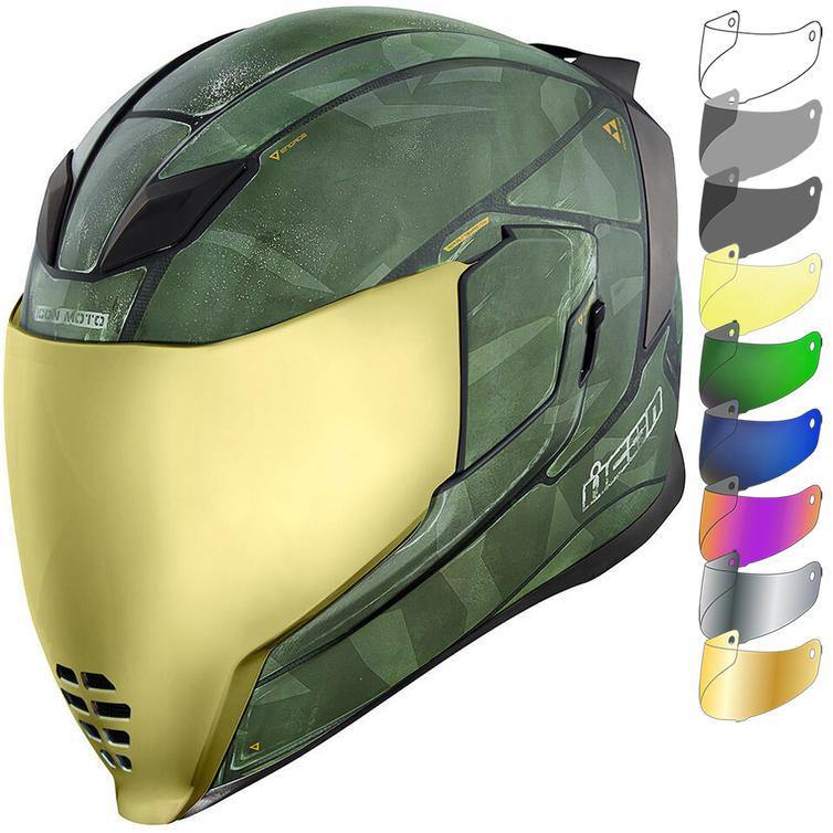 Icon Airflite Battlescar 2 Motorcycle Helmet & Visor