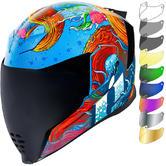 Icon Airflite Inky Motorcycle Helmet & Visor